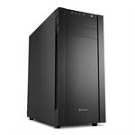 Sharkoon S25-V Midi-Tower Black computer case
