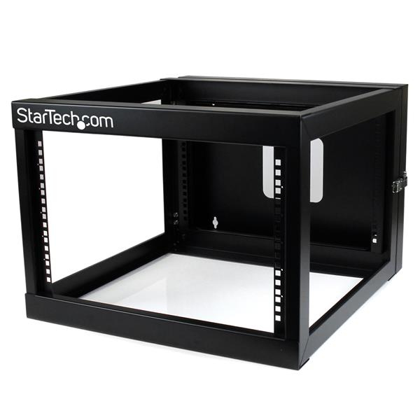 StarTech.com 6U 22in Depth Hinged Open Frame Wall Mount Server Rack rack