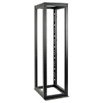 Tripp Lite 50U SmartRack 4-Post Open Frame Rack Cabinet Heavy-Duty