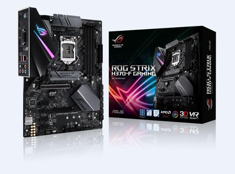 MB Int ROG Strix H370 F Gam DDR4 ATX
