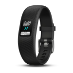 "Garmin vívofit 4 Wristband activity tracker Black MIP 1.55 cm (0.61"")"