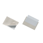 Durable 8093 card pocket Transparent