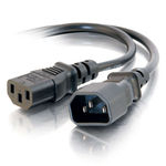 C2G 1.8m 14 AWG power cable Black