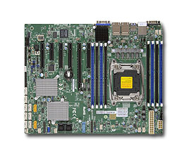 Supermicro X10SRH-CLN4F server/workstation motherboard LGA 2011 (Socket R) Intel® C612 ATX