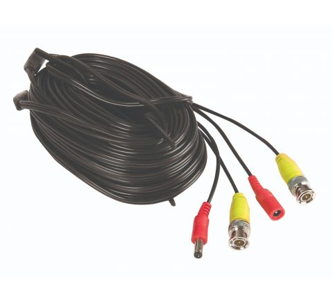 Yale SV-BNC30 coaxial cable 30 m Black