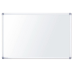 Nobo Nano Clean Steel Magnetic Whiteboard 900x600mm with Aluminium Trim