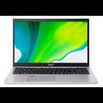 "Acer Aspire 5 A515-56-54U9 Notebook 39.6 cm (15.6"") 1920 x 1080 pixels 11th gen Intel® Core™ i5 8 GB DDR4-SDRAM 1000 GB SSD Wi-Fi 6 (802.11ax) Windows 10 Home Silver"