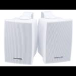 Monoprice 6971 loudspeaker 2-way 40 W White Wired