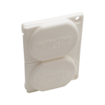 Tripp Lite PSHGCOVERKIT socket safety cover White