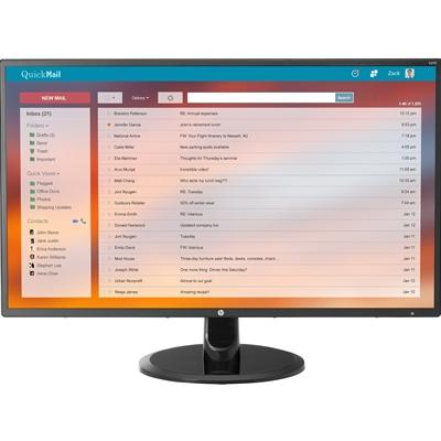 "HP V270 LED display 68.6 cm (27"") Full HD Flat Black"