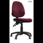 Eliza Tinsley Java 200 High Back Operator Chair Red DD