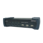 Digitus USB 2.0-KVM switch Black KVM switch