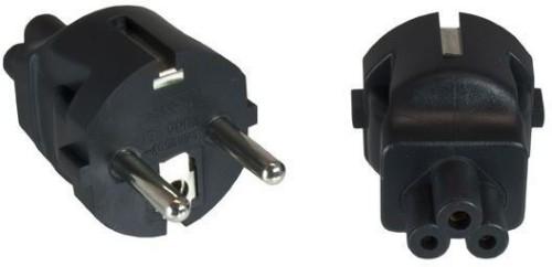 Microconnect PECEEC5AD power plug adapter Type F Black