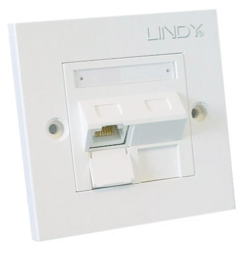 Lindy 60568 flat panel wall mount White
