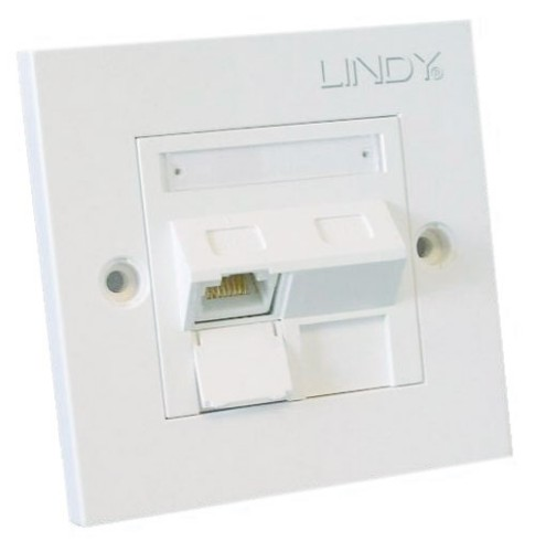 Lindy 60568 wall plate/switch cover White