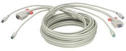 Lindy 2m KVM cable Grey