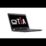 """T1A DELL Latitude E5470 Refurbished Notebook Black 35.6 cm (14"""") 1366 x 768 pixels 6th gen Intel® Core™ i5 8 GB DDR4-SDRAM 128 GB SSD Wi-Fi 5 (802.11ac) Windows 10 Pro"""