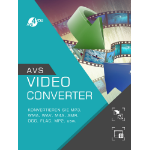 AVS4YOU Video Converter Elektronischer Software-Download (ESD) Mehrsprachig
