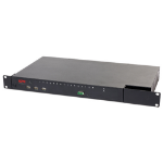 APC KVM2116P KVM switch Rack mounting Black