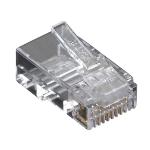 Black Box 100x Value Line Cat6 Transparent wire connector