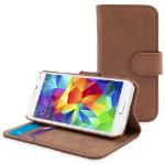 "TheSnugg B00IJCM9SM 5.1"" Folio Brown mobile phone case"