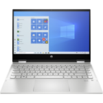 "HP Pavilion x360 14-dw0010na Hybrid (2-in-1) Silver 35.6 cm (14"") 1920 x 1080 pixels Touchscreen 10th gen Intel® Core™ i5 8 GB DDR4-SDRAM 256 GB SSD Wi-Fi 5 (802.11ac) Windows 10 Home S"
