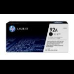 HP C4092A (92A) Toner black, 2.5K pages