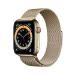 Apple Watch Series 6 44 mm OLED 4G Oro GPS (satélite)
