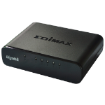 Edimax ES-5500G V3 Unmanaged Gigabit Ethernet (10/100/1000) Black network switch