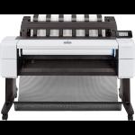HP Designjet T1600 impresora de gran formato Color 2400 x 1200 DPI Inyección de tinta térmica 914 x 1219 mm Ethernet