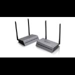 iogear GWLR4K60KIT AV extender AV transmitter & receiver Black,Grey