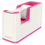 Leitz 53641023 Polystyrene Metallic, Pink tape dispenser