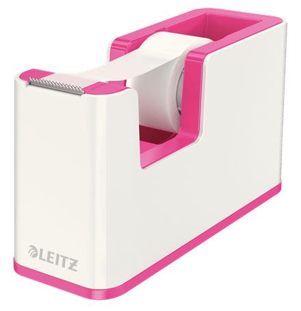 Leitz 53641023 tape dispenser Polystyrene Metallic,Pink