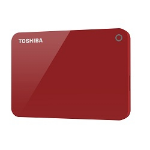 Toshiba Canvio Advance 2000GB Red external hard drive