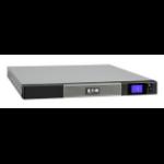 Eaton 5P1150IR + 5Y Warranty 1150VA 6AC outlet(s) Rackmount Black, Grey uninterruptible power supply (UPS)