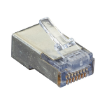 Black Box C5EEZSP-25PAK wire connector RJ-45 Silver