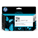 HP P2V67A (730) Ink cartridge bright black, 130ml