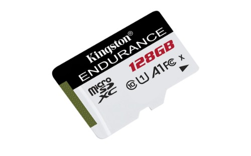Kingston Technology High Endurance memory card 128 GB MicroSD Class 10 UHS-I