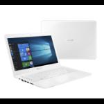 "ASUS VivoBook E402NA-GA005T 1.10GHz N3350 14"" 1366 x 768pixels White Notebook"