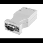 Vision TC3 VGATP VGA RJ-45 White cable interface/gender adapter