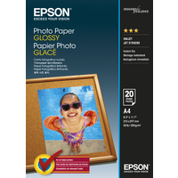 Epson Photo Paper Glossy - A4 - 20 sheets
