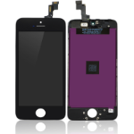 MicroSpareparts Mobile MOBX-IPO5S-LCD-B Display Black 1pc(s)