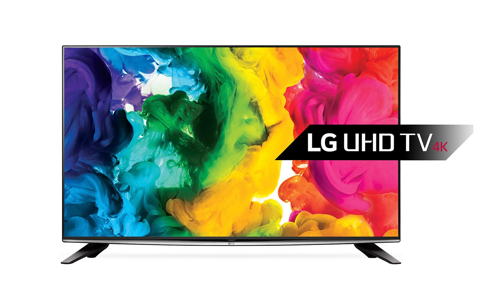 "LG 58UH635V 58"" 4K Ultra HD Smart TV Wi-Fi Black LED TV"