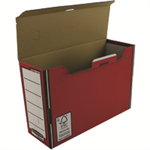 Bankers Box Bankers Box by Fellowes Premium Transfer File Red and White Ref 00058-FF [Pack 10]