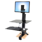 Ergotron 97-845 Multimedia stand Black multimedia cart/stand