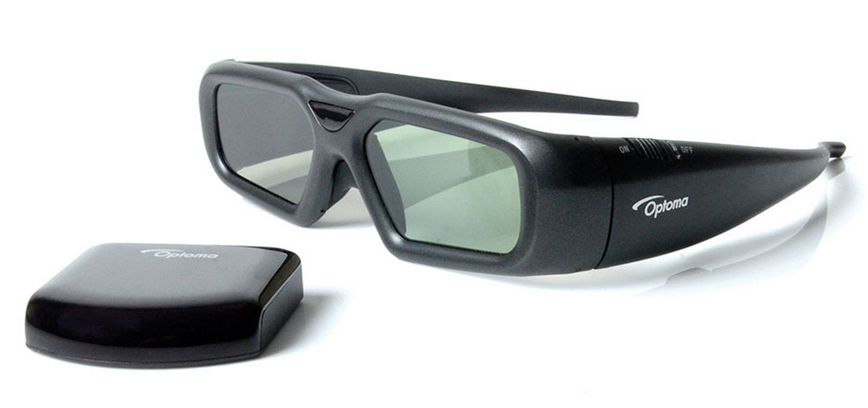 Optoma ZF2300 Black 1pc(s) stereoscopic 3D glasses