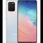 """Vodafone Samsung Galaxy S10 Lite 17 cm (6.7"""") Hybrid Dual SIM Android 10.0 3G USB Type-C 8 GB 128 GB 4500 mAh Silver, White"""
