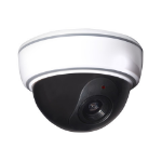 Proper Imitation Dome Camera Black,White Dome dummy security camera