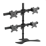 Vision Mounts Four Screen Adjustable Desk Bracket