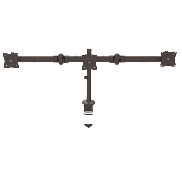 StarTech.com Brazo articulado para 3 monitores de hasta 24 Pulgadas - Con ajuste de altura sin herramientas
